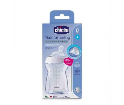 Chicco Cam Biberon Natural Feeling 250ml 0 Ay+