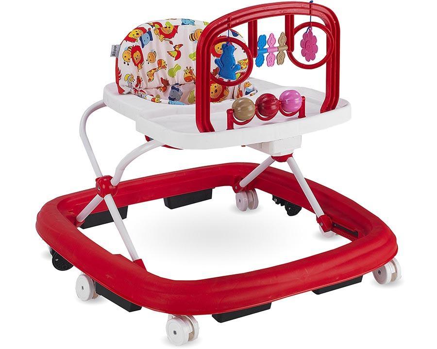 Baby Hope Ayarlı Yürüteç Kırmızı Renk Kod:203