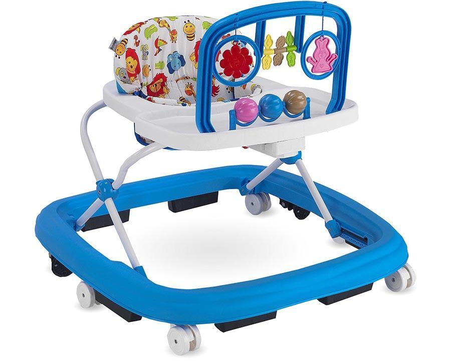 Baby Hope Ayarlı Yürüteç Mavi Renk Kod:203