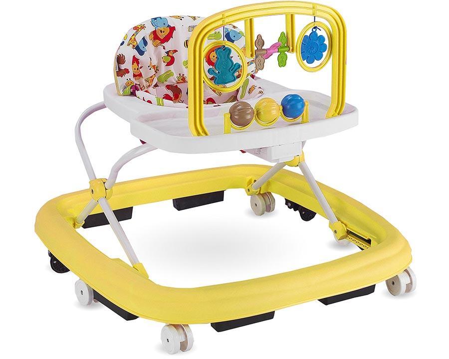 Baby Hope Ayarlı Yürüteç Sarı Renk Kod:203
