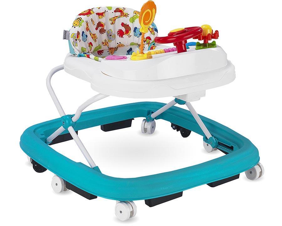 Baby Hope Yürüteç Lüks Oyuncaklı Turkuaz Renk Kod:217