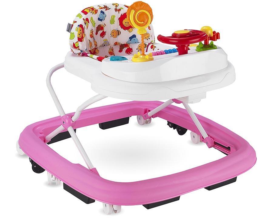 Baby Hope Yürüteç Lüks Oyuncaklı Pembe Renk Kod:217