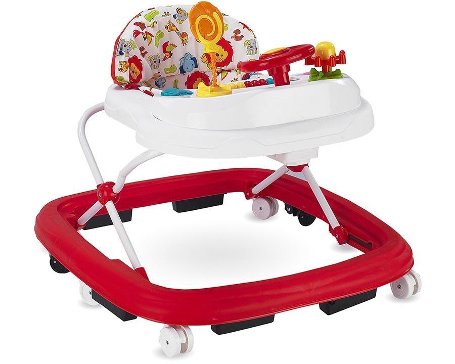 Baby Hope Yürüteç Lüks Oyuncaklı Kırmızı Renk Kod:217