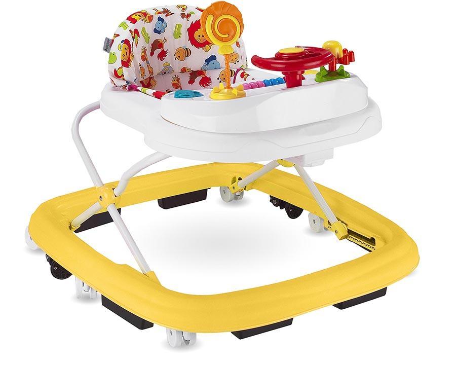 Baby Hope Yürüteç Lüks Oyuncaklı Sarı Renk Kod:217