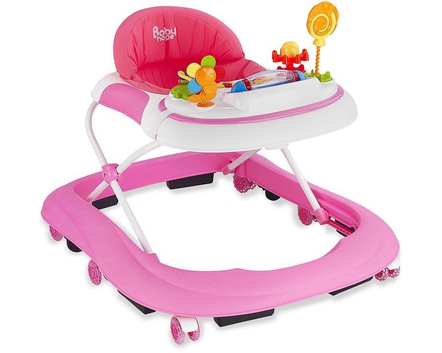 Baby Hope Yürüteç Star Oyuncaklı Pembe Renk Kod:213