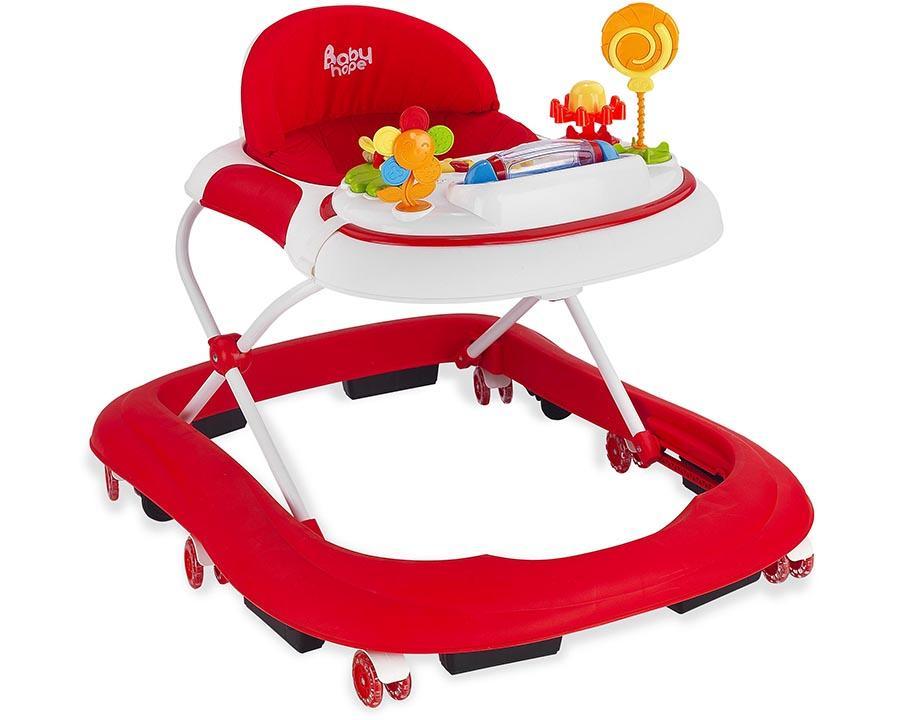 Baby Hope Yürüteç Star Oyuncaklı Kırmızı Renk Kod:213