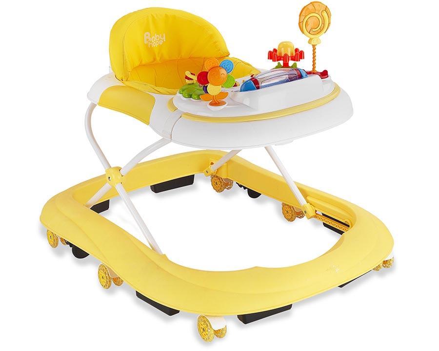 Baby Hope Yürüteç Star Oyuncaklı Sarı Renk Kod:213