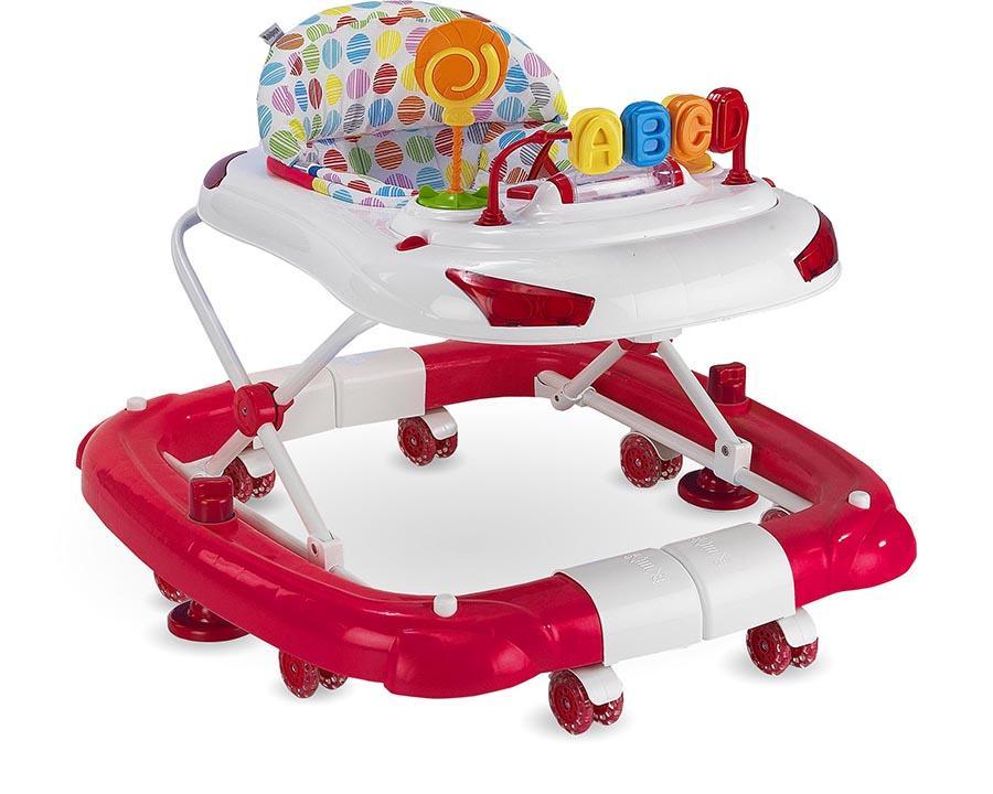 Baby Hope Yürüteç Sallanan Tobby Yürüteç Kırmızı Renk Kod:219