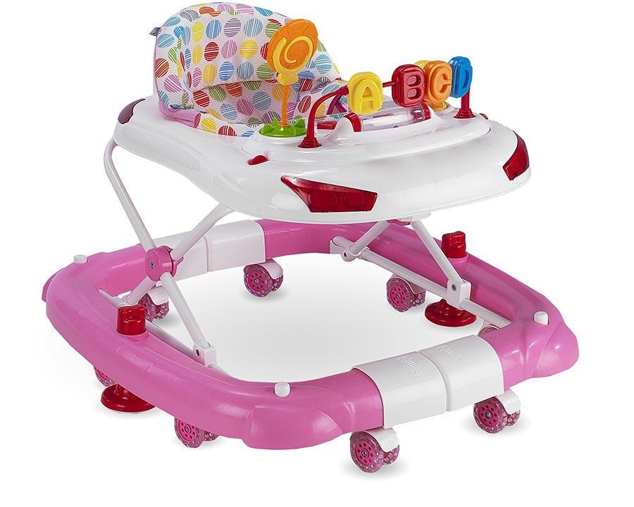 Baby Hope Yürüteç Sallanan Tobby Yürüteç Pembe Renk Kod:219