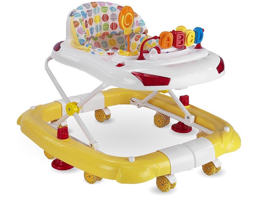 Baby Hope Yürüteç Sallanan Tobby Yürüteç Sarı Renk Kod:219