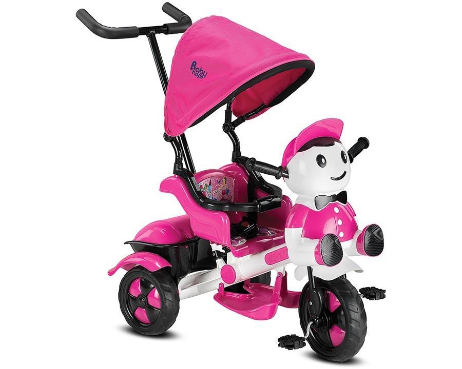 Baby Hope Bisiklet Üç Teker Yupi Pembe Renk Kod:125