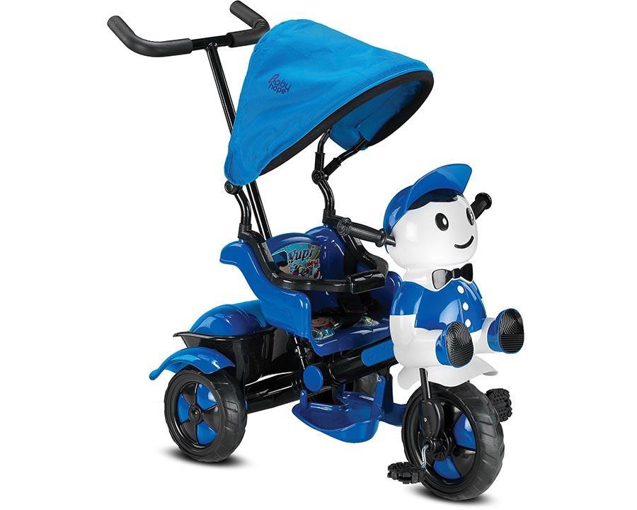 Baby Hope Bisiklet Üç Teker Yupi Mavi Renk Kod:125