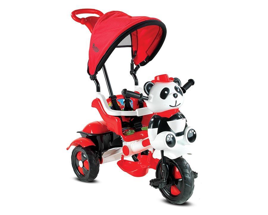 Baby Hope Bisiklet Üç Teker Little Kırmızı-Beyaz Renk Kod:127