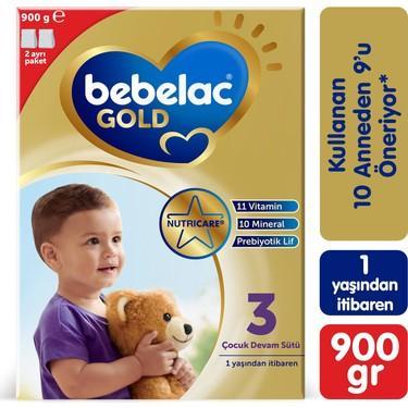 Bebelac Gold 3 900 Gr Devam Sütü skt:01/2022