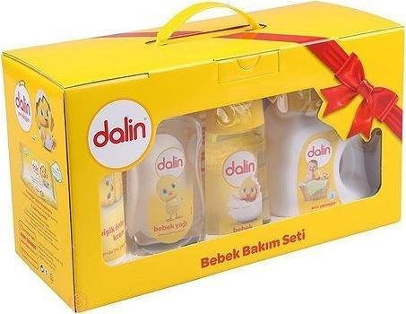 Dalin Gift Yenidoğan Bebek Bakım Şampuan Seti 7'li Set
