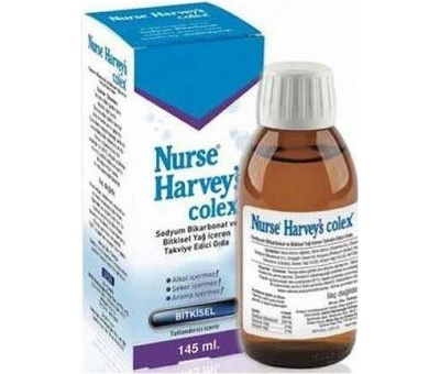 Nurse Harvey'S Colex Bitkisel 145 Ml skt 09/2020
