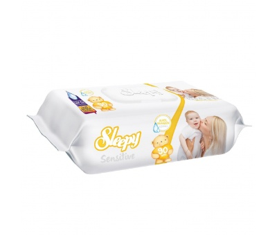Sleepy Sensitive 90 Lı ıslak Havlu 24 lü koli