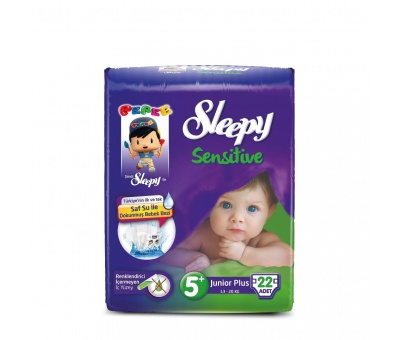 Sleepy Sensitive Junior Plus Pepee 22 Adet (13-20 Kg)